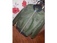 Womens Adidas MA1 Bomber Jacket Size 14