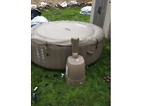 Hot tub Intex bubble spa. Collection Bingley West Yorkshire