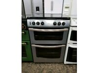 New world 60cm Full Gas Double Oven cooker in good working order