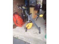 Golds gym exercise bike