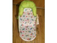 Summer Infant Caterpillar Baby bather bath seat