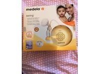 MEDELA SWING electric 2-phase breast pump New / Boxed / Sealed