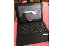 Lenovo A10 Tablet and Bluetooth keyboard