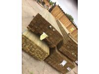 4.8 metre 6x2 Timber c24 construction grade Treated wood