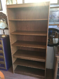 Large Bookcase - free Local Delivery feel free to view size W 36 in D 16 in H 72