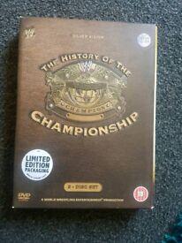 Wwe History of the championship 3 DVD set
