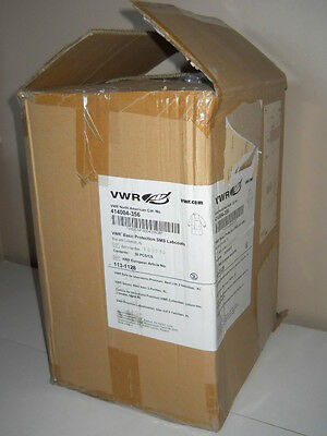 24 Vwr Blue X-large Basic Protection Sms Lab Coats 414004-356