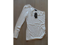 Ladies AX Knitted Sequinned Top - New with Tags