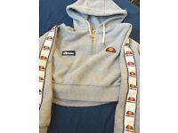 Elesse crop hoodie