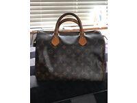 44c97e3a242b Genuine Louis Vuitton Speedy 30