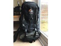 Lowe Alpine Travel Trekker 70 rucksack / backpack