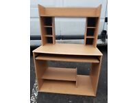 PC Computer Work Station Desk Shelves Teenagers room. FREE delivery in Derby
