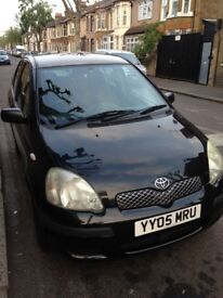 Toyota yaris car for sale. Very good to drive, and very trusted.