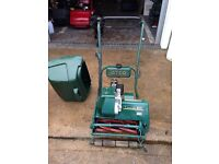 Atco B17 Cylinder Lawn Mower with Grass Box - re-conditioned