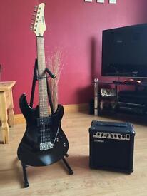 Yamaha ERG 121C Electric Guitar (with amp)