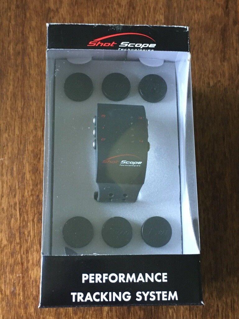 Shot Scope V1 - Performance Tracker Brand New Never Used still in original box Less than half price