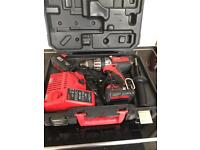 Milwaukee HD18-402C Drill batteries & Charger