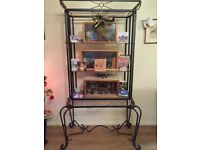 Reduced, take a look, Ornate Shelving Unit