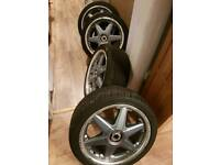 AUDI A3 17 inch alloy wheels