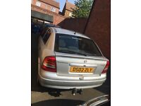 Silver Vauxhall Astra for sale. £500 ONO.