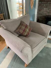 Oak furniture land arm chair