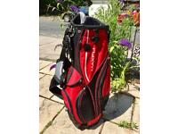 Golf Bag / Stand Bag / 9 hole divider / Maxfli
