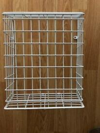 Letter Cage.