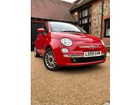 Fiat 500c Convertible 43k miles. New brakes, tyres and mats. MOTed and serviced Sept 2017