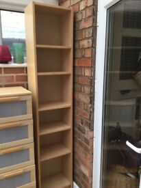 IKEA shelving unit (5 shelves in very good condition)