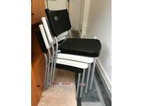 4 matching chairs, Ikea designed, sturdy, simple and hardwearing.