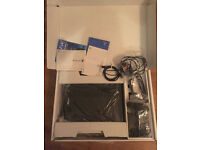 PS4 500gb Jet black in perfect condition with minor surface marks - 12 games included