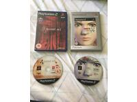 Resident Evil Code Veronica X and 4 PS2