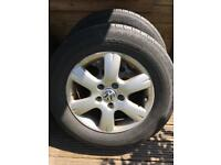 T5 alloy wheels