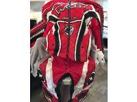 Motor cross mx motorbike trousers and jacket size large