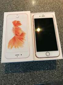 I phone 6s rose gold for sale