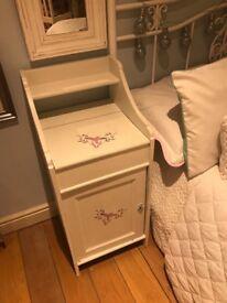 Shabby chic style dresser storage cupboard