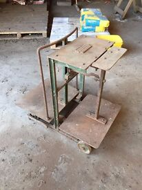 J White & Sons Sack Scales for weighing taties or grain