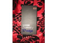 samsung galaxy s7 edge 32gb unlocked BRAND NEW !!!!!!!!!! BOXED, ROSE GOLD