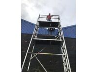Boss massive 8.2 alloy scaffold tower single width