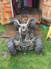 250cc Quad bike project