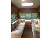 Swift Sprite Quattro 2010 Caravan Fixed Bed