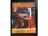 Trinity College London Grade 1 Violin Pieces 2016-2019