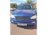 ML Mercedes 270cdi 7 seater blue estate great runner 10 months mot