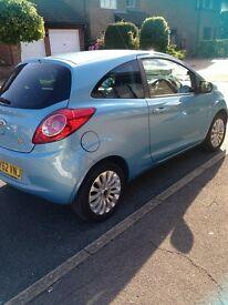 Ford Ka Zetec 2012, Blue, Manual, Mot July 2017 Great first car, Road Tax only £30, £4500