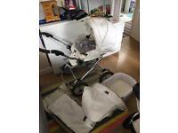 Babystyle bouncy Pram pushchair