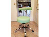 For sale a brand new dental stool with active tilting mechanism