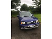 Nissan Micra - small car