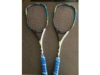 Wilson Surge BLX 140 Squash Racquets (Priced as a Pair)