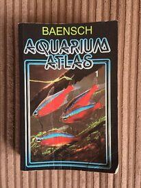 Baensch Aquarium Atlas Volume 1 Sixth Revised English Edition. Paperback Book.