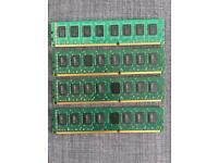8GB DDR3 (4 x 2GB 1333MHz) CL9